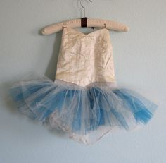 Vintage 50s Tutu  Handmade Girls by BadChollaVintage