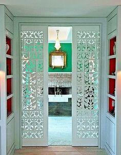 Beautiful pocket doors