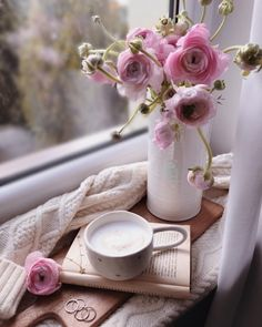 Have you set your intentions for the month of April yet? We& committing to. Have you set your intentions for the month of April yet? We& committing to taking care of our mental and physical health (📸:… Coffee And Books, Coffee Art, Coffee Cups, Tea Cups, Good Morning Coffee, Coffee Break, But First Coffee, I Love Coffee, Tout Rose