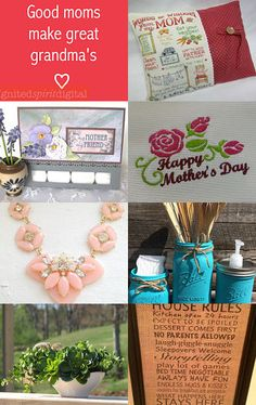 Mother's Day is near - What will she love? by Sandi and Patti on Etsy--Pinned with TreasuryPin.com