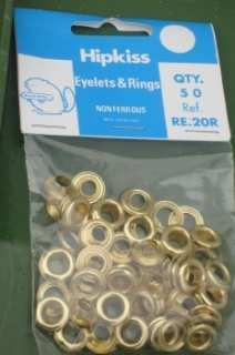 All Sizes HipKiss Brass Eyelet Refills
