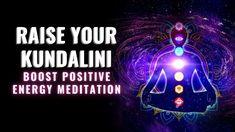 Raise Your Kundalini | Chakra Kundalini Awakening | Cleanse Aura | Boost... Chakra Healing Music, Meditation Youtube, Music Heals, Awakening, Cleanse