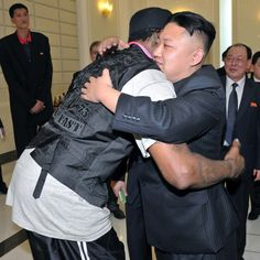 A touching ode to Kim Jong Un by his bestie, Dennis Rodman.