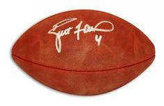Autographed Brett Favre NFL Football