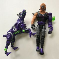 Action Man - Dr. X with Mechanical Arm And Dog Hasbro 1999 Doctor X