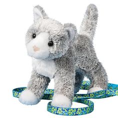 Best Cat Toys -- Douglas Scatter Gray Cat -- For more information, visit image affiliate link.