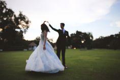 blue disney princess dress winter park casa feliz rollins chapel fairytale wedding