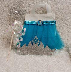 Queen Elsa Dress up Set Elsa Bag Wand and Tiara by GracesGardens, $12.50