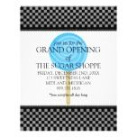 Shop Candy Shop Grand Opening Announcement Flyers created by thesugarshoppe. Custom Flyers, Candy Shop, Grand Opening, Flyer Template, Announcement, Notes, Make It Yourself, Templates, Prints