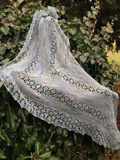 Ravelry: June Bunnies Shawl pattern by Inese Andzane