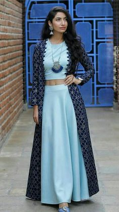 dresses indian indian dressesYou can find Designer dresses indian and more on our website Party Wear Indian Dresses, Designer Party Wear Dresses, Indian Gowns Dresses, Indian Fashion Dresses, Kurti Designs Party Wear, Dress Indian Style, Indian Designer Outfits, Girls Fashion Clothes, Indian Outfits