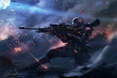 ArtStation - Titanfall speed fanart, . Dleoblack