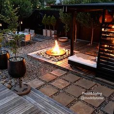 37 Beautiful Small Backyard Patio Design Ideas For Best Landscape - Ideas for small backyard patios are endless! Don't be discouraged if your backyard is tiny and you think it cannot accommodate a hard surface seating . Outdoor Spaces, Outdoor Living, Outdoor Decor, Pergola Diy, Pergola Ideas, Hot Tub Pergola, Outdoor Pergola, Cheap Pergola, Outdoor Fire