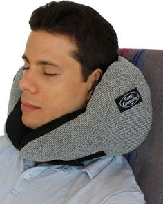 """This is hands down the BEST travel pillow around. I've purchased 4 and tossed them. This one - I will never travel without again. It's a must for long flights."""