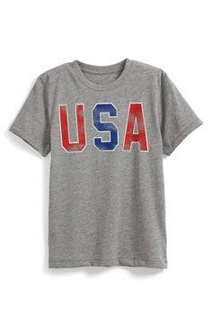 Peek+'USA+Words'+T-Shirt+(Toddler+Boys,+Little+Boys+&+Big+Boys)+available+at+#Nordstrom
