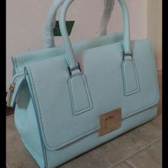 Kate Spade Joana Amelia Street Satchel in Cloud This bag is just gorgeous. Never been used with all original tags. 14x9.5x6in so it's obviously very roomy. And the color is divine. kate spade Bags Satchels