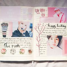 """57 Likes, 7 Comments - Kpop journaling/ ماسة  (@peachykjournal) on Instagram: """"Hi! I feel like I get bored of themes too easily :/ like idk this doesn't look as good as it did…"""""""