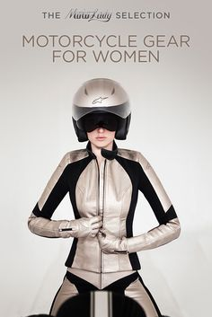The coolest, sexiest motorcycle gear, for ladies who like to ride.