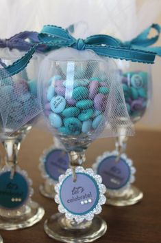 Julie B's Stampin' Space: Fun Party Favors! #BridalShowerFavors