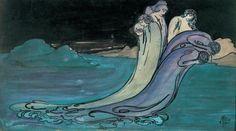 Pamela Colman Smith (1878-1951). The Wave. 1903.
