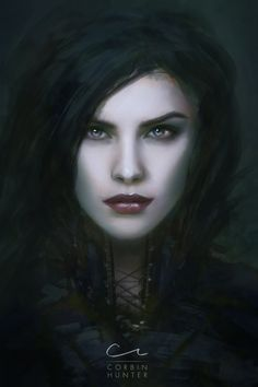 RPG character portrait from imagination. Limited myself to 7 hours to do it from scratch.