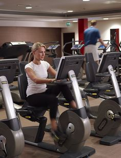 The Spa at Rockliffe Hall features a state of the art technogym. North Yorkshire, Hotel Spa, State Art, Luxury, Fitness