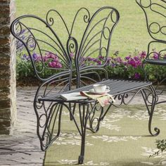 Butterfly Bench from Seventh Avenue ® | DI705624