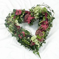 Heart Tributes | Funeral Flowers Redhill | Flowers77 | 01737 771477