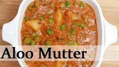 Aloo Mutter - Potato Peas Curry - Indian Main course Recipe By Ruchi Bharani [HD]