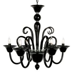 Calais Chandelier - Black from Z Gallerie