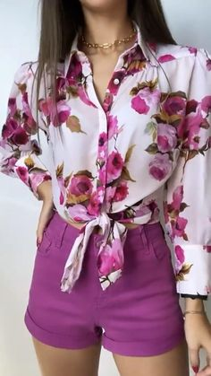Girls Fashion Clothes, Girl Fashion, Fashion Outfits, Womens Fashion, Culottes Outfit, Casual Outfits, Cute Outfits, Indian Gowns Dresses, Long Tops