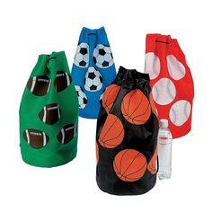 Sport+Ball+Drawstring+Bags+-+OrientalTrading.com