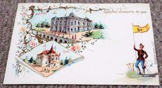 Austria - Paris Exposition Universelle - Undivided Back 1900 World Fair Postcard World's Fair, Austria, Postcards, Paris, Painting, Montmartre Paris, Painting Art, Paris France, Paintings