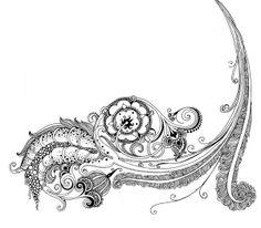 Ornament and vignettes. Part 2 by Sveta Dorosheva, via Behance