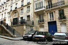 Midnight In Paris location: arriving at Bricktop's: rue Malebranche, Paris