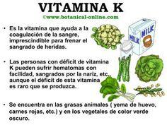 Propiedades de la vitamina K