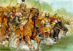 Alexander the Great crossed the Granicus