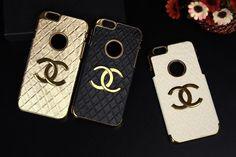 IPhone 6 Chanel Neue Handy Merkmal Sichtbar Mehrfarbige Kunstleder Handyhülle
