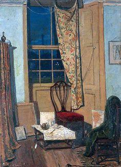 James Dickson Innes - The Corner of a Room,1908