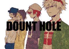 Boku no Hero Academia x Vocaloid || Crossover [ Hanta Sero, Kaminari Denki, Kirishima Eijirou, Katsuki Bakugou. ]