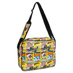 Superman Comic Messenger Bag (Multi Coloured)