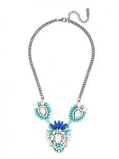 love the blue hues in this Neon Neptune Pendant.