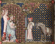 Bodleian Library MS. Bodl. 264, The Romance of Alexander in French verse, 1338-44; 57v
