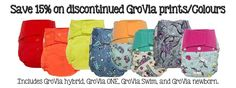 GroVia Discontinued prints off Cloth Diapers, Swimming, Canada, Cozy, Prints, Clothes, Swim, Outfits, Clothing