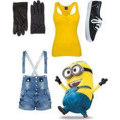 Minions! This is sooooo gonna be my #halloween costume. :)