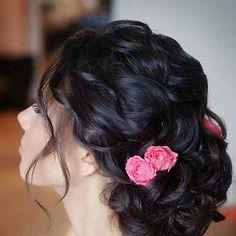 Mediterranean pink bridal style by Yana Kolosova