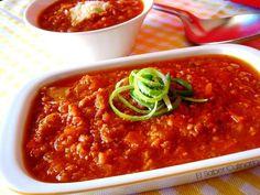 Salsa boloñesa especial con licuado de pimiento rojo (ideal para pasta, lasaña o pizzas) | Cocinar en casa es facilisimo.com