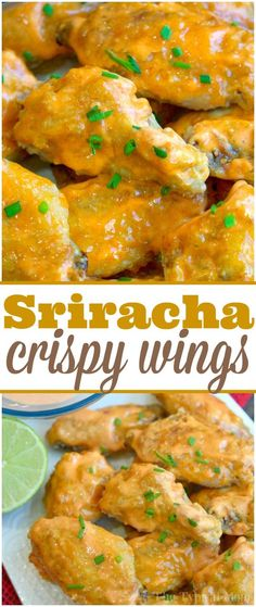 Sweet Sriracha Baked Chicken Wings - https://temeculablogs.com/sweet-sriracha-baked-chicken-wings/