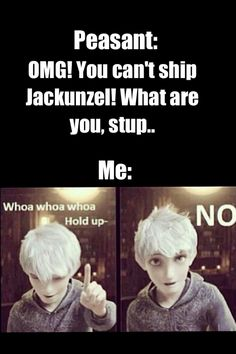 This is my new reaction to immature shippers who insult my otp