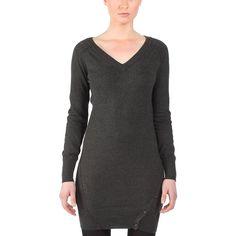 Bench Strickkleid Discslide - Vestido de danza para mujer, color negro, talla S